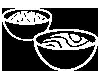 Nudeln und Reis